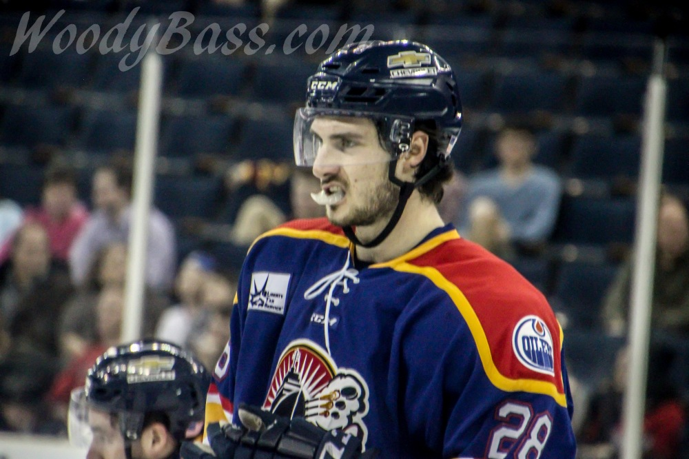 Norfolk Admirals Defenseman Ben Betker